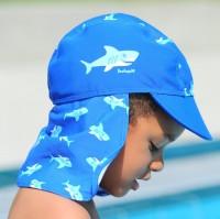 Schirmmütze mit Nackenschutz - Hai