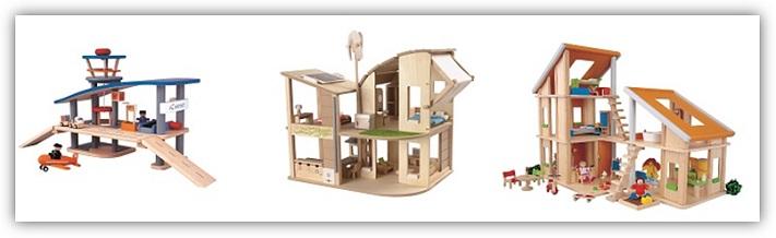 Spielzeug-Flugzeug-und-Puppenhaus-aus-schadstofffreien-Holz-PlanToys-greenstories-Blog
