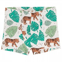 Boxershorts Jungle Tiger in hellgrün