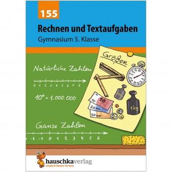 Rechnen und Textaufgaben Gymnasium Klasse 5