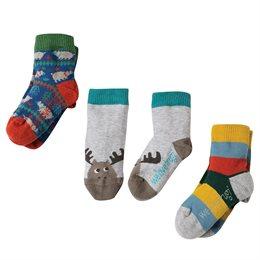 3er Pack Bio Frugi Socken Rentier