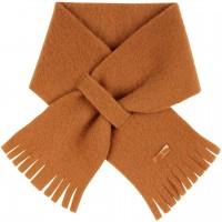 Steckschal Wolle 70 cm ca. 1-3 Jahre karamell-braun