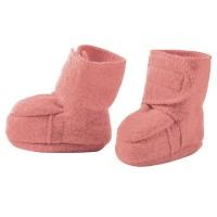 Warme Babyschuhe Klettverschluss Stoppern rosa