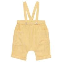 Super leichte Sommer Latzhose gelb