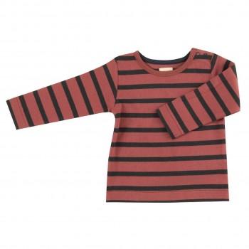 Hochwertiges Shirt altrosa-schwarz