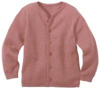 Vorschau: Leichte warme Strickjacke Wolle atmungsaktive rosa