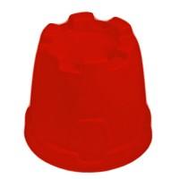 Sandform Burgturm - rot