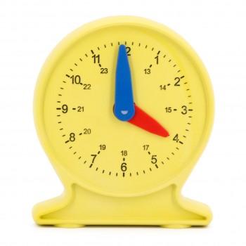 Lernuhr aus RE-Plastic® - Uhrzeit lernen ab 5 Jahren