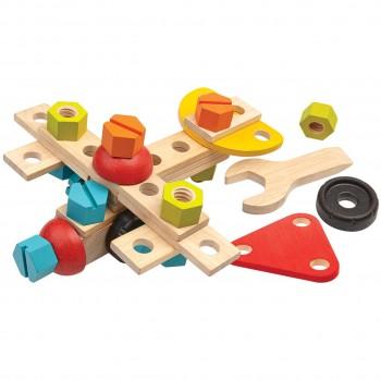 Bauset 40 Teile mit 2in1 Schraubenschlüssel & -zieher