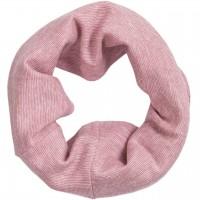 Baumwolle Wolle Seide Schlauchschal rosa