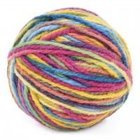Mischgarn aus Wolle und Seide – Bunt 25g