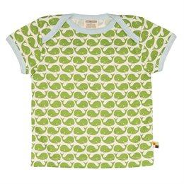Wale T-Shirt von Loud + Proud grün