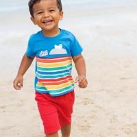Sommerset T-Shirt mit Shorts Nilpferd