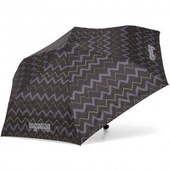 Kinder Regenschirm schwarze Wellen