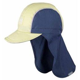 Capi - Schirmmütze mit Nackenschutz für heiße Tage navy grün