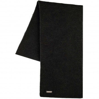 Erwachsenen Schal Wolle schwarz