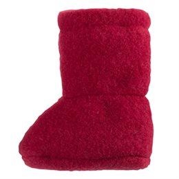 Super warme Babyschuhe als Socke weinrot