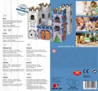 """Vorschau: Burg """"Drachenstein"""" zum Stecken, malen & spielen"""