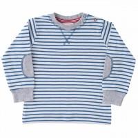 Shirt luftig leicht blau gestreift
