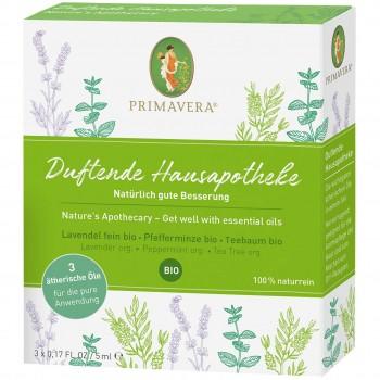 Duftende Hausapotheke ätherische Öle Set Bio – 3 x 5 ml