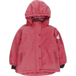 Winterjacke super soft und warm - rot pastell