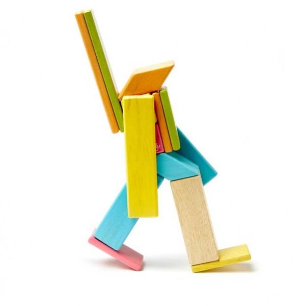 Magnet-Holzbauklötze-Tints 14-teilig