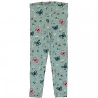 Schmetterlings Leggings hellblau