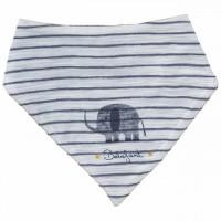 Leichtes Wende Dreiecktuch Elefant anthrazit
