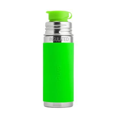 plastikfrei-trinkflasche-edelstahl-pura-kiki-gruen-kinder