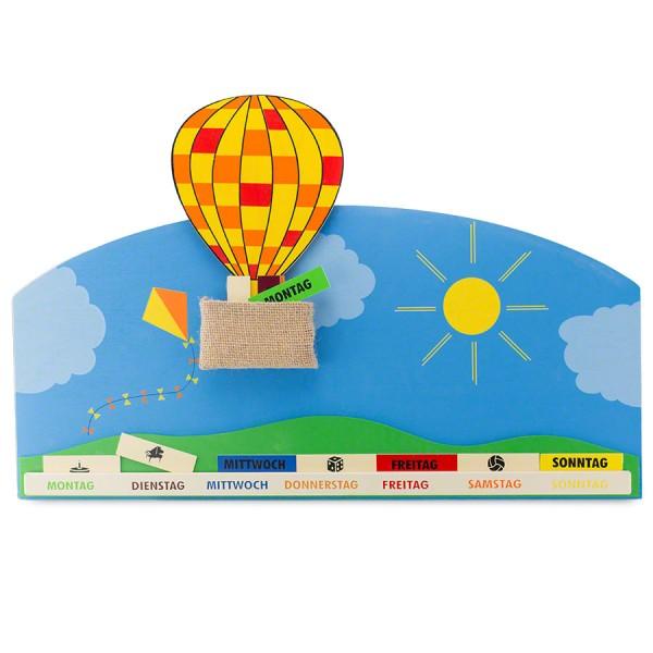 Wochenkalender Ballonfahrt
