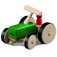 Holz Traktor creamobil - grün