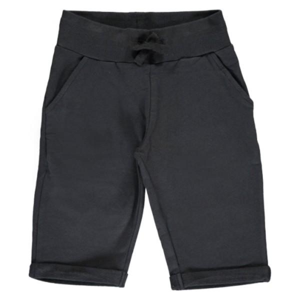 Robuste Sweatshorts knielang schwarz