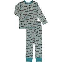 Dackel Schlafanzug normal dünn und elastisch