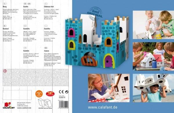 Ritterburg zum Stecken, malen & spielen