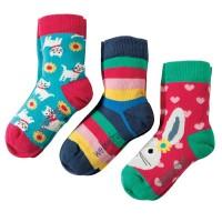 Kinder Bio Socken 3er Pack