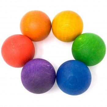 Balls 6er Set in 6 Farben – ab 18 Monaten