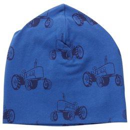 Traktor Beanie in Ozean-blau