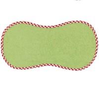 Spucktuch 43 cm lang, 22 cm breit Baumwollfrottee grün