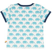 Vorschau: Kurzarm Shirt blaue Nasenbären