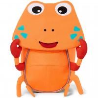 Ergonomischer Rucksack 1-3 Jahre Krabbe orange