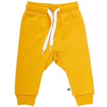 Robuste Sweat Jogginghose kräftiges gelb
