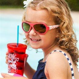 Kinder Sonnenbrille 3-7 schadstofffrei Erdbeer rot