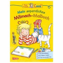 Conni superdickes Mitmach-Malbuch ab 5-10 Jahre