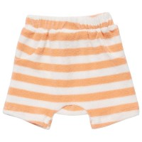 Angenehme Frottee Shorts in apricot