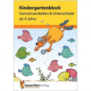 Kindergartenblock Gemeinsamkeiten & Unterschiede ab 4 Jahre