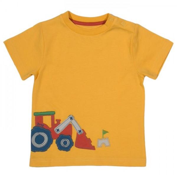 T-Shirt aus Biobaumwolle für Jungen Traktor