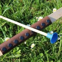 Saugpfeil blau 46 cm für Juniorbogen