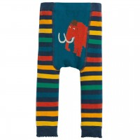 Strickleggings gestreift Mammut