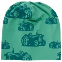 Leichte Beanie Traktoren grün