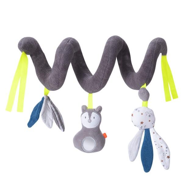 Kikadu Kinderwagenkette Stoffspirale